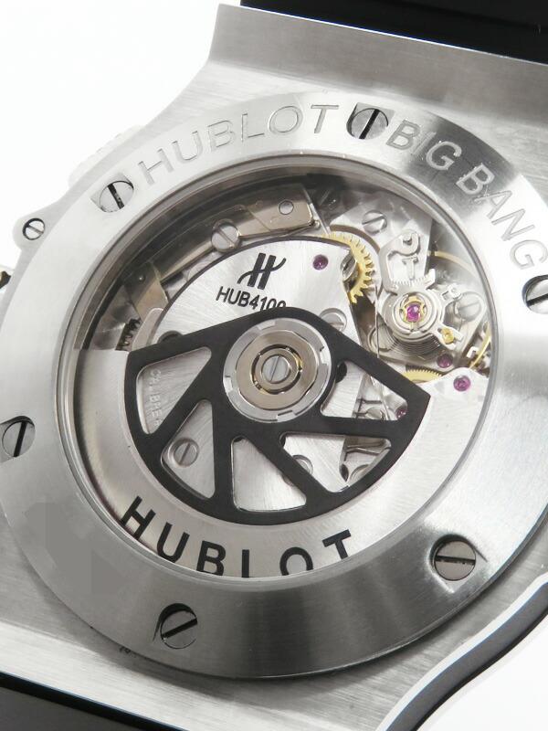 【HUBLOT】【裏スケ】【内部点検・仕上済】ウブロ『ビッグバン クロノグラフ 44mm』301.SB.131.RX メンズ 自動巻き 6ヶ月保証【中古】