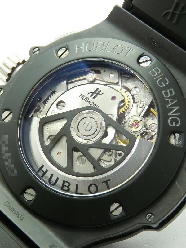 【HUBLOT】【裏スケ】ウブロ『ビッグバン アエロバン ブラックマジック』311.CI.1170.GR メンズ 自動巻き 6ヶ月保証【中古】
