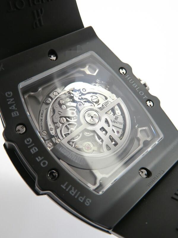 【HUBLOT】【裏スケ】ウブロ『スピリット オブ ビッグバン ブラックマジック』601.CI.0173.RX メンズ 自動巻き 3ヶ月保証【中古】