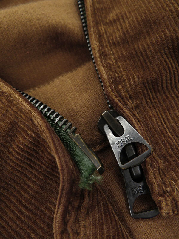 【BARACUTA】【ルーマニア製】【アウター】バラクータ『コーデュロイ ジップアップジャケット size34』1302182 メンズ ブルゾン 1週間保証【中古】