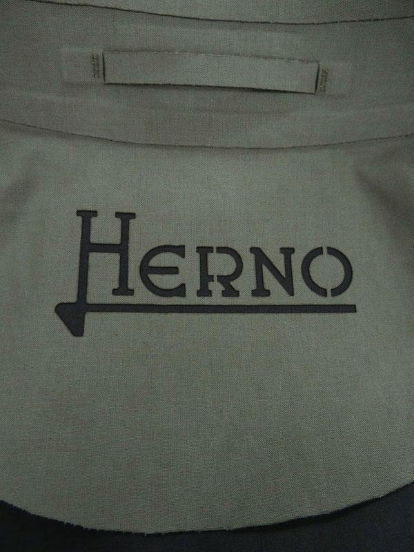 【HERNO】【ルーマニア製】【アウター】ヘルノ『ジップ ステンカラーコート size48』IM0049U-13170-9492 メンズ 1週間保証【中古】