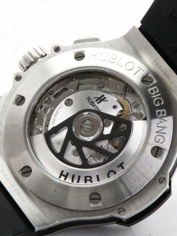【HUBLOT】【裏スケ】【仕上済】ウブロ『ビッグバン エボリューション』301.SM.1770.RX メンズ 自動巻き 6ヶ月保証【中古】