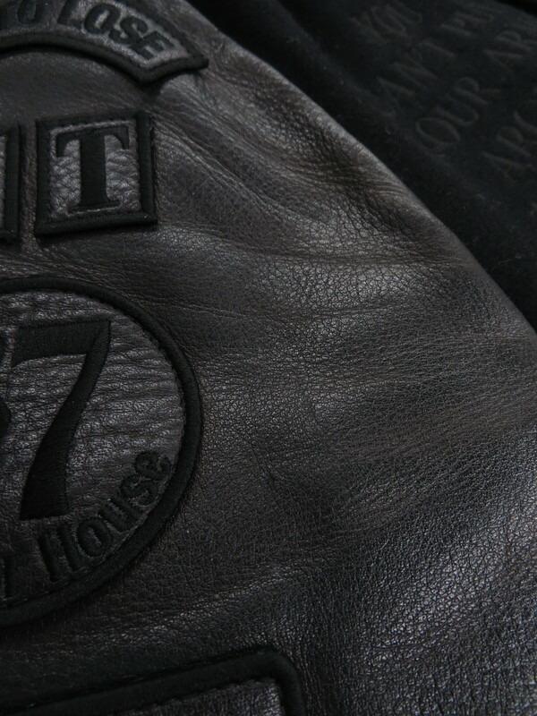 【HYSTERIC GLAMOUR】【日本製】ヒステリックグラマー『レザー切替スタジャン sizeS』4AB-1671 メンズ 1週間保証【中古】