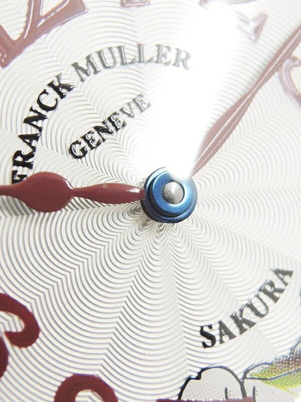 【FRANCK MULLER】【WGケース】【国内正規品】フランクミュラー『トノーカーベックス サクラ』7502QZ SAKURA ボーイズ クォーツ 3ヶ月保証【中古】
