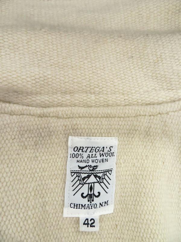 【ORTEGA'S】【CHIMAYO JACKET】【HTC】オルテガ『チマヨジャケット size42』メンズ 1週間保証【中古】