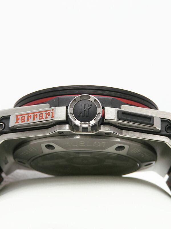 【HUBLOT】【世界限定1000本】ウブロ『ビッグバン フェラーリ カーボン レッドマジック』401.QX.0123.VR メンズ 自動巻き 6ヶ月保証【中古】
