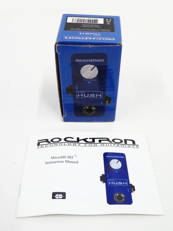 【ROCK TRON】ロックトロン『ノイズゲート』micro HUSH エフェクター 1週間保証【中古】