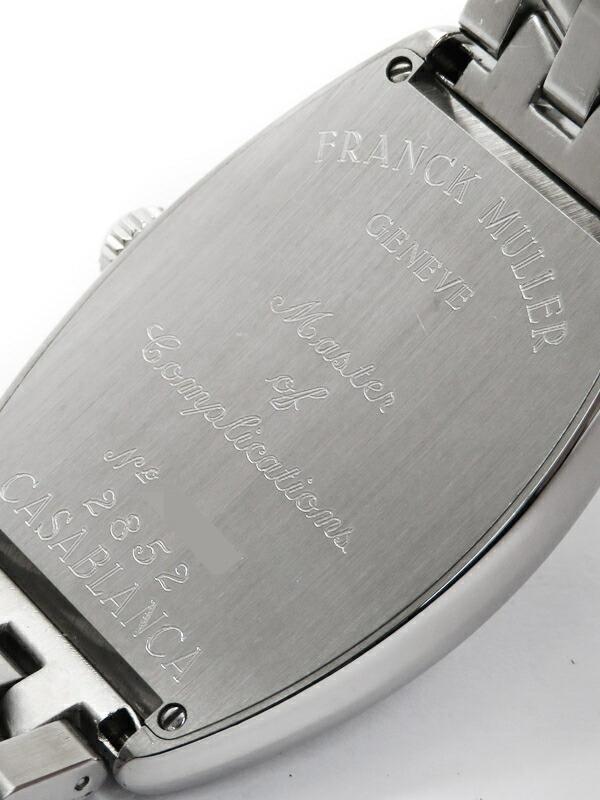 【FRANCK MULLER】【海外正規品】フランクミュラー『トノーカーベックス カサブランカ』2852 メンズ 自動巻き 3ヶ月保証【中古】