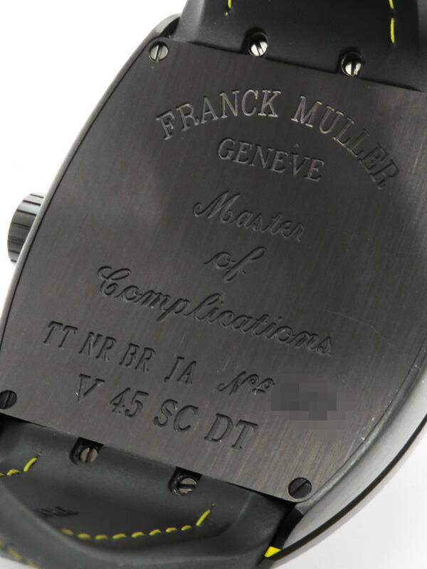 【FRANCK MULLER】フランクミュラー『ヴァンガード』V45SCDT メンズ 自動巻き 6ヶ月保証【中古】