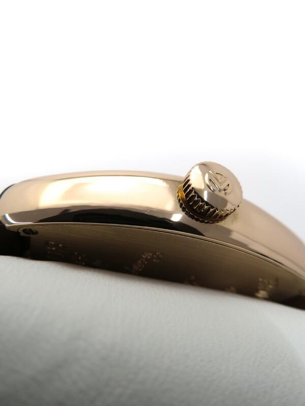 【FRANCK MULLER】【海外正規品】【RGケース】【OH・仕上済】フランクミュラー『トノーカーベックス サンセット』5850SC SUNSET メンズ 自動巻き【中古】