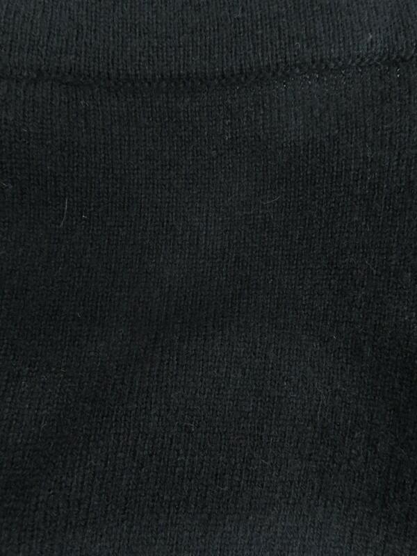 【CHANEL】【イタリア製】シャネル『長袖カシミヤワンピース size44』P42061W04956 レディース 1週間保証【中古】