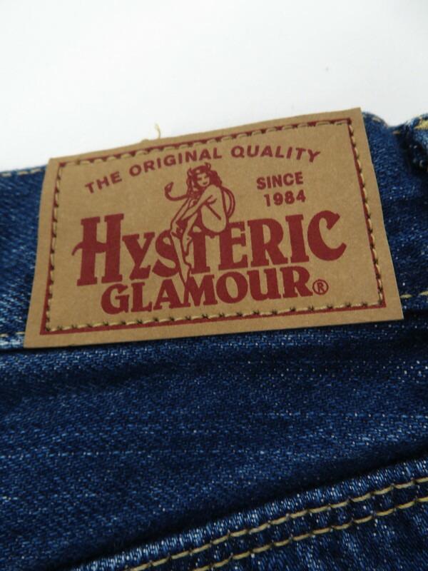 【HYSTERIC GLAMOUR】【日本製】【ジーパン】【ボトムス】ヒステリックグラマー『ジーンズ size28』02173AP13 メンズ デニムパンツ 1週間保証【中古】
