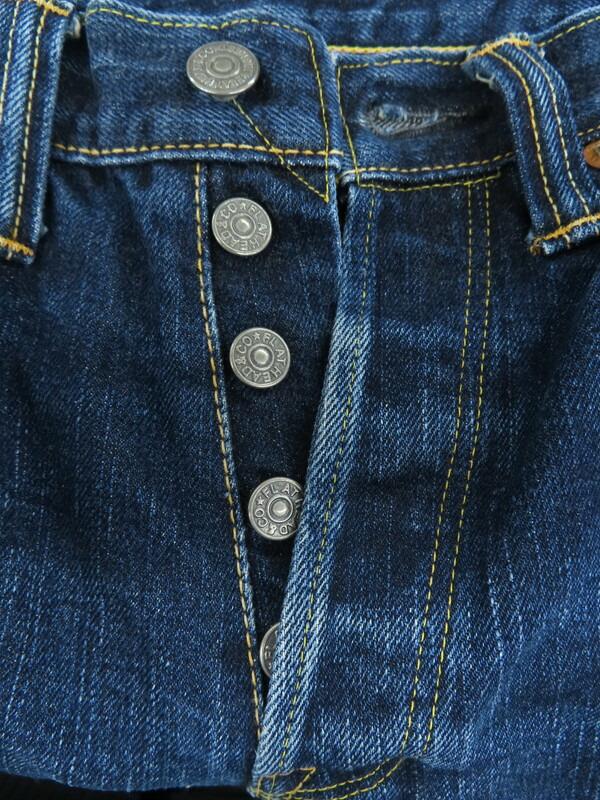 【THE FLAT HEAD】【日本製】【ジーパン】【ボトムス】ザフラットヘッド『ジーンズ size28』K015 メンズ デニムパンツ 1週間保証【中古】
