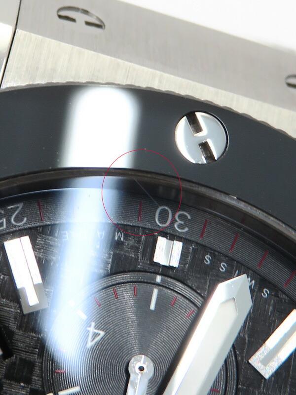 【HUBLOT】【裏スケ】【OH・仕上済】ウブロ『ビッグバン クロノグラフ 44mm』301.SB.131.RX メンズ 自動巻き 6ヶ月保証【中古】