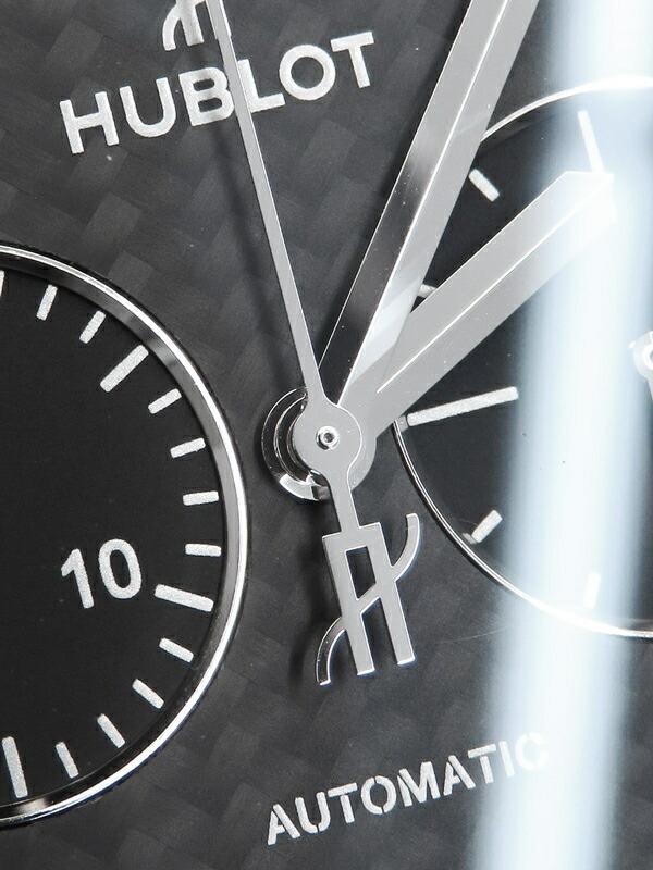 【HUBLOT】【裏スケ】ウブロ『クラシックフュージョン クロノグラフ ブラックマジック』521.CM.1771.RX メンズ 自動巻き 6ヶ月保証【中古】