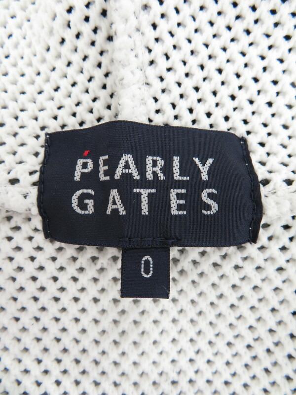 【PEARLY GATES】【トップス】パーリーゲイツ『カモフラ柄メッシュジップアップパーカー size0』055-8172206 レディース 1週間保証【中古】