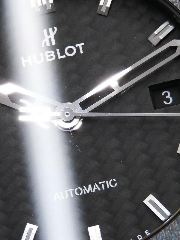 【HUBLOT】【裏スケ】ウブロ『クラシック フュージョン ブラックマジック』542.CM.1770.CM メンズ 自動巻き 6ヶ月保証【中古】