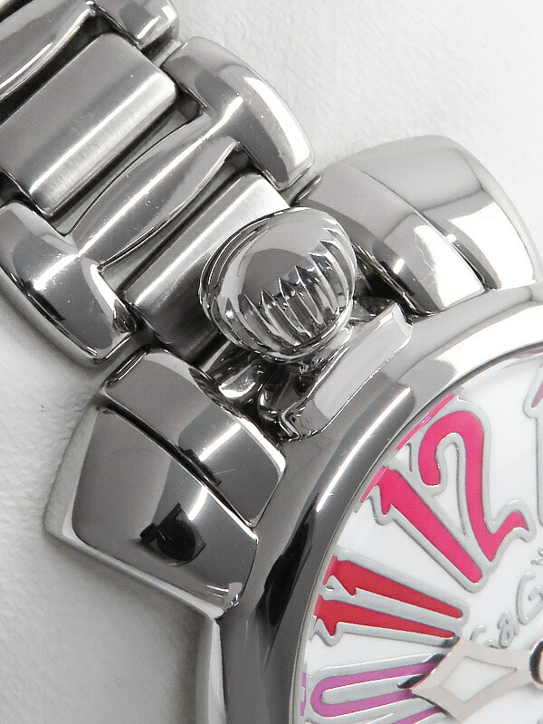 【GaGa MILANO】【電池交換済】ガガミラノ『マヌアーレ 35mm』6020.4 レディース クォーツ 1週間保証【中古】