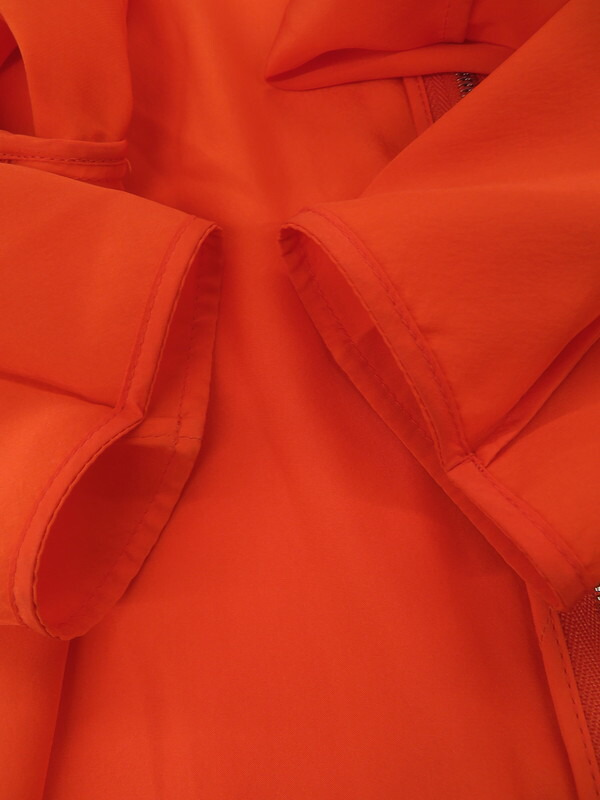 【CELINE】【フィービー期】【フランス製】【トップス】セリーヌ『シルク 長袖ブラウス size38』2 OR17/2604 レディース シャツ 1週間保証【中古】