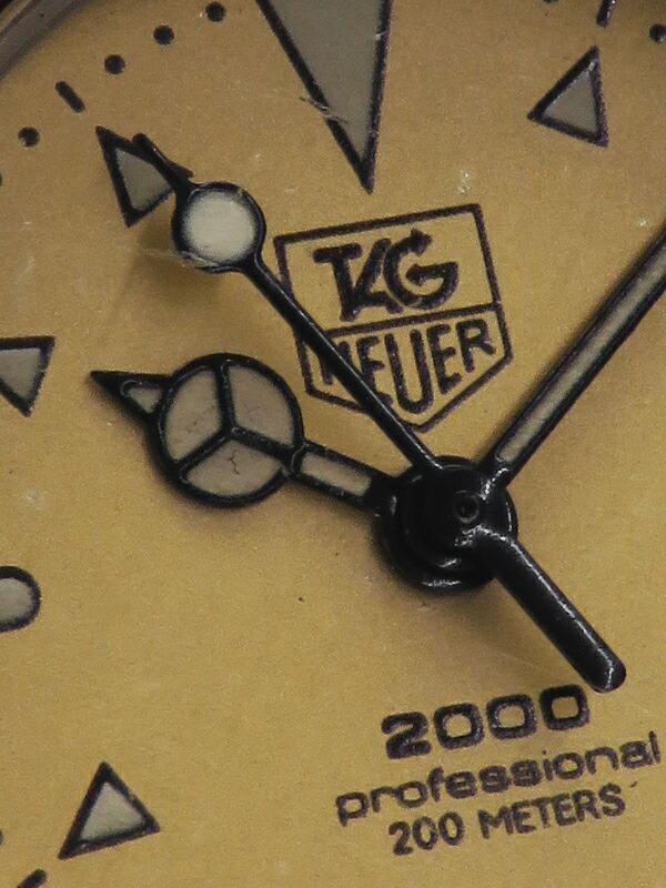 【TAG Heuer】【電池交換済】タグホイヤー『プロフェッショナル 2000 デイト』974.008 レディース クォーツ 1週間保証【中古】