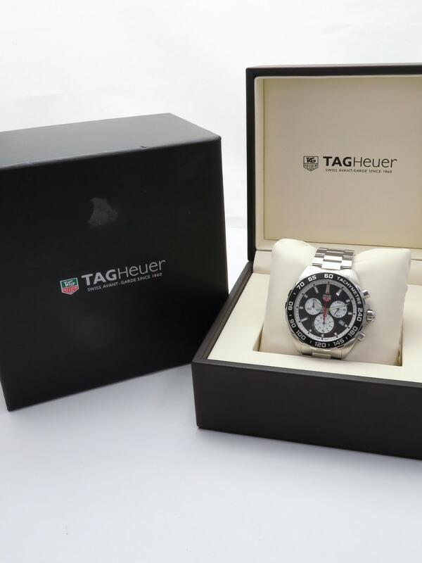 【TAG Heuer】【電池交換済】タグホイヤー『フォーミュラ1』CAZ101E.BA0842 メンズ クォーツ 1ヶ月保証【中古】