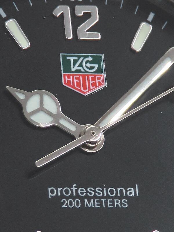 【TAG Heuer】【電池交換済】タグホイヤー『2000シリーズ プロフェッショナル』W K1110.FT8002 メンズ クォーツ 1週間保証【中古】