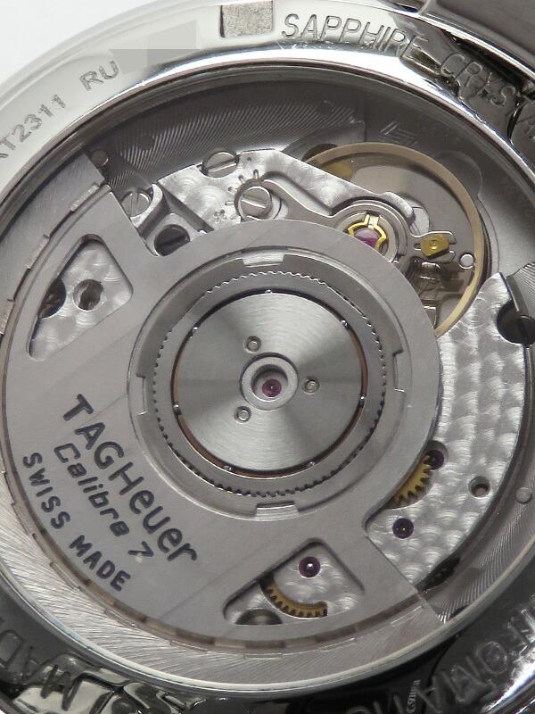 【TAG Heuer】【裏スケ】【仕上済】タグホイヤー『リンク 11Pダイヤ』WAT2311.BA0956 メンズ 自動巻き 3ヶ月保証【中古】