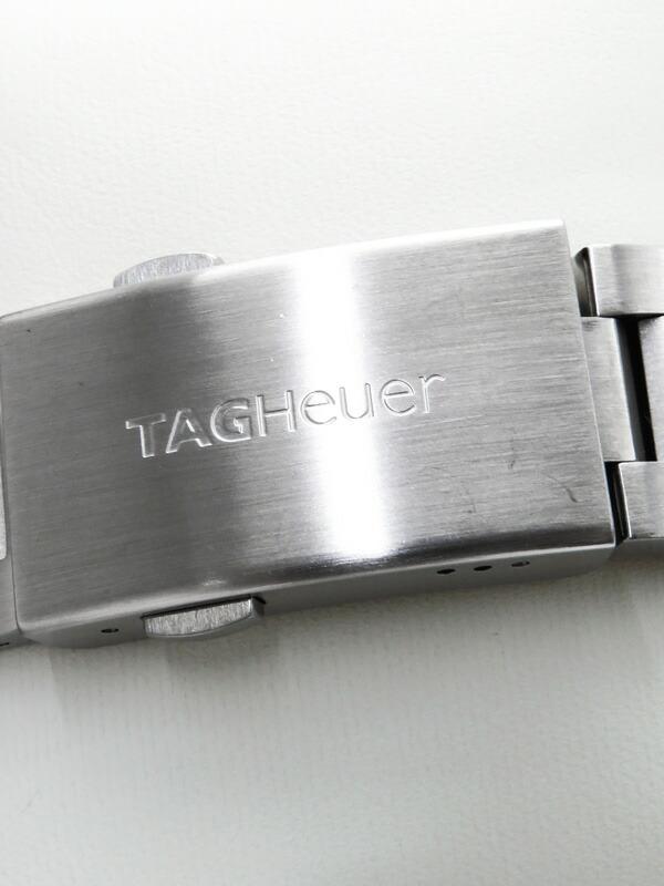 【TAG Heuer】【電池交換・仕上済】タグホイヤー『アクアレーサー グランドデイト クロノグラフ』CAF101F.BA0821 メンズ クォーツ 1ヶ月保証【中古】