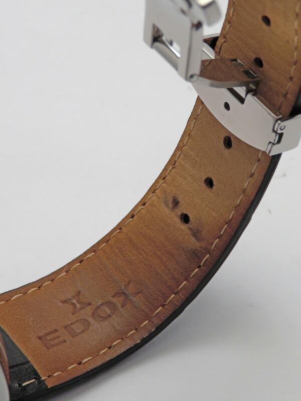 【EDOX】【裏スケ】エドックス『レ ベモン デイデイト』83015.3.NIN メンズ 自動巻き 1週間保証【中古】