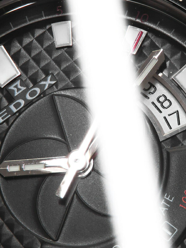 【EDOX】エドックス『クラスワン オートマチック デイト』80079-3-NIN メンズ 自動巻き 1ヶ月保証【中古】