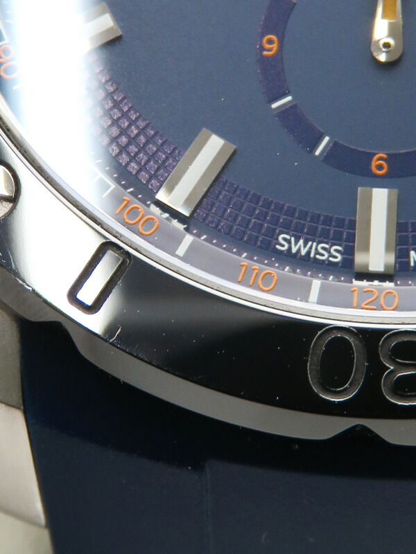 【EDOX】【電池交換済】エドックス『クロノオフショア1 クロノグラフ』10221 メンズ クォーツ 1ヶ月保証【中古】