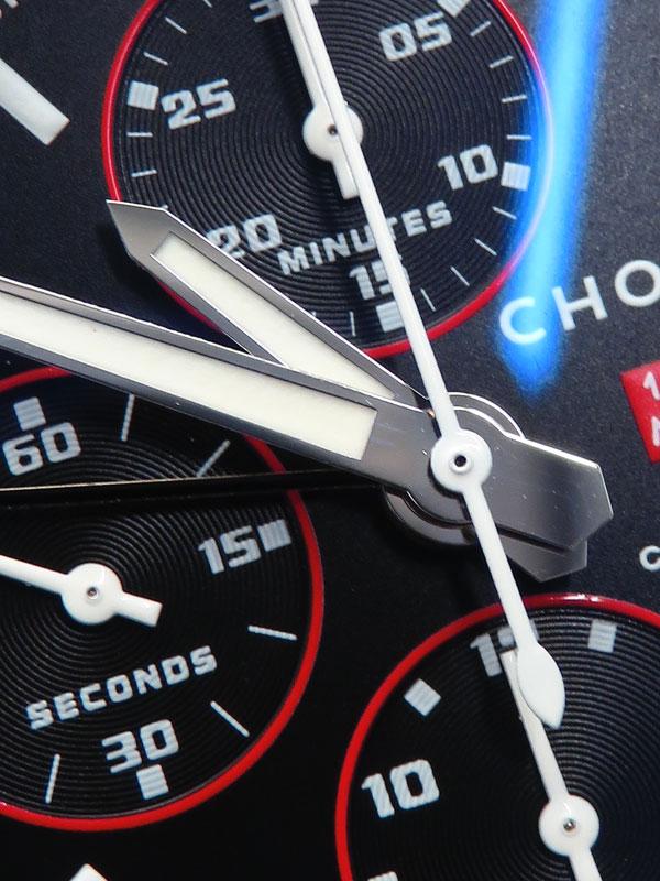 【Chopard】【裏スケ】ショパール『ミッレミリア GT XL クロノ スピードブラックII』16/8992/4 メンズ 自動巻き 3ヶ月保証【中古】