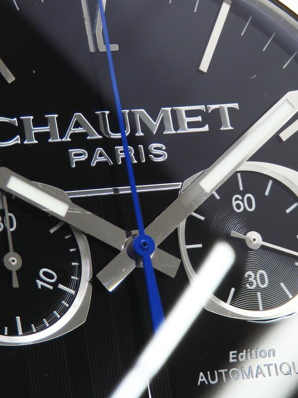 【CHAUMET】ショーメ『ダンディ クロノグラフ』W11690-30A メンズ 自動巻き 3ヶ月保証【中古】