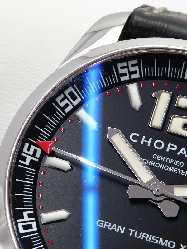 【Chopard】【裏スケ】【仕上済】ショパール『ミッレミリア グラントゥーリズモXL』16/8997 メンズ 自動巻き 3ヶ月保証【中古】