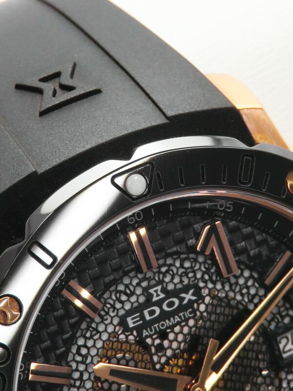 【EDOX】エドックス『クロノオフショア1』80099-37R-NIR メンズ 自動巻き 1ヶ月保証【中古】