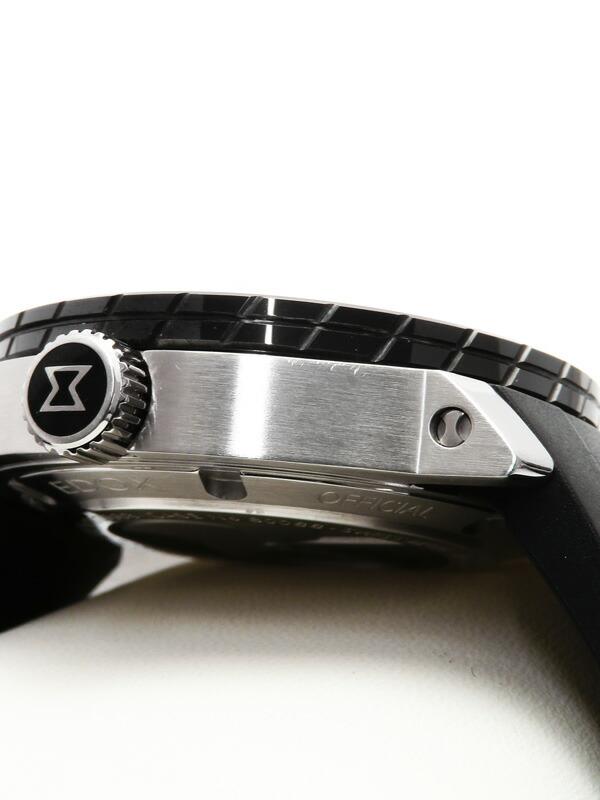 【EDOX】エドックス『クロノオフショア1 プロフェッショナル』80088-3-NIN メンズ 自動巻き 1ヶ月保証【中古】