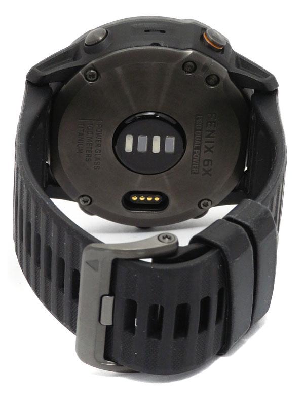 【GARMIN】ガーミン『フェニックス 6X プロ デュアルパワー GPSスマートウォッチ』010-02157-53 メンズ ウェアラブル端末 1週間保証【中古】