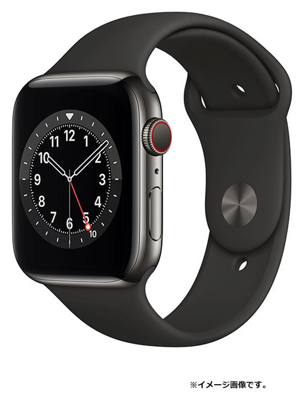 【Apple】【アップルウォッチ シリーズ6】【未開封】アップル『Apple Watch Series 6 GPS+Cellularモデル 44mm』M09H3J/A メンズ スマートウォッチ【中古】