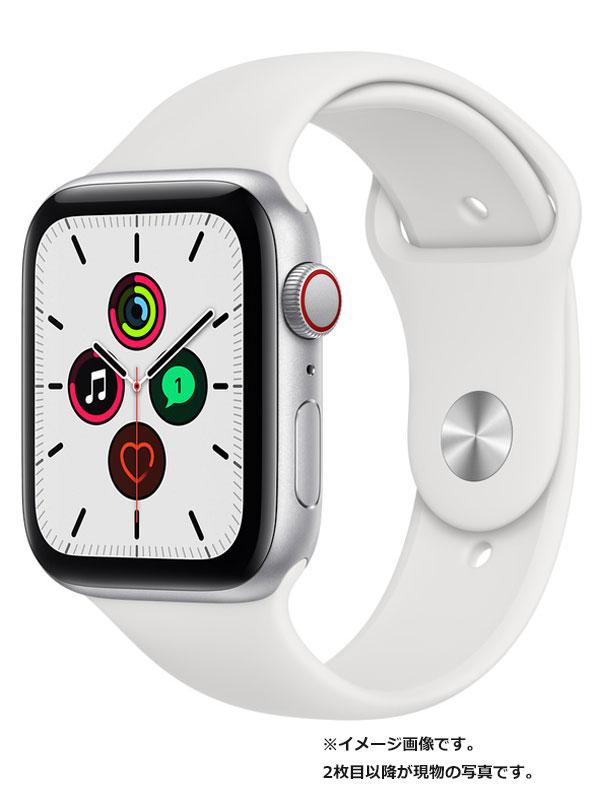 【Apple】【アップルウォッチ SE】アップル『Apple Watch SE GPS+Cellularモデル 44mm』MYEV2J/A メンズ スマートウォッチ 1週間保証【中古】