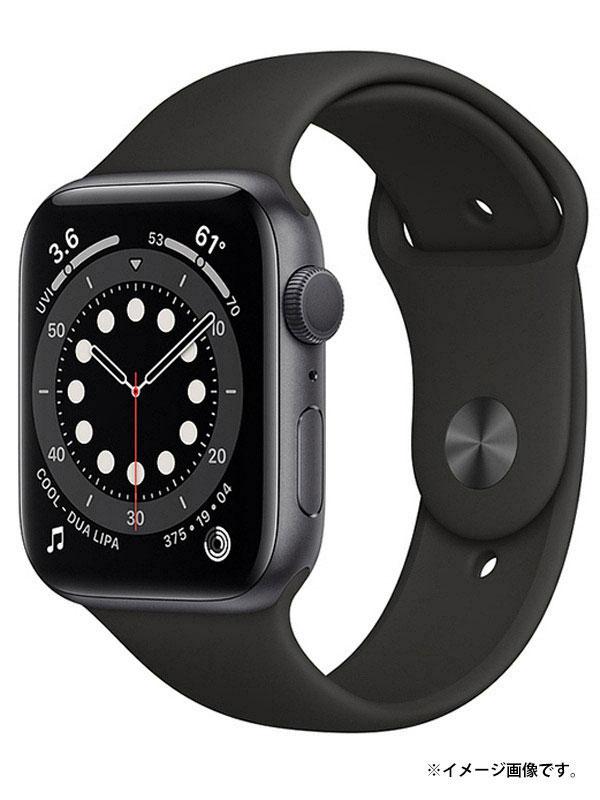 【Apple】【アップルウォッチ シリーズ6】【未開封】アップル『Apple Watch Series 6 GPSモデル 44mm』M00H3J/A メンズ スマートウォッチ 1週間保証【中古】