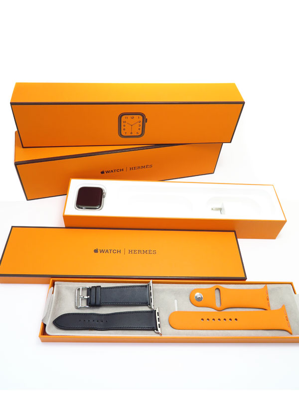 【Apple】【アップルウォッチ シリーズ4】アップル『Apple Watch Hermes Series 4 GPS+Cellularモデル 44mm』MU772J/A メンズ スマートウォッチ【中古】
