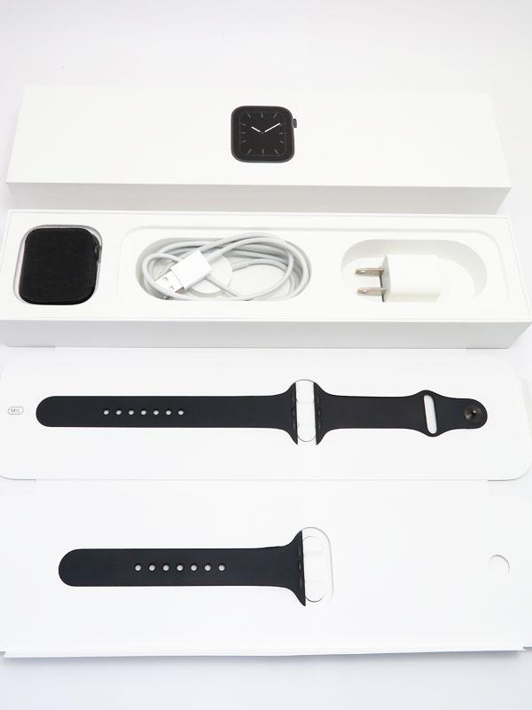 【Apple】【アップルウォッチ シリーズ5】アップル『Apple Watch Series 5 GPSモデル 44mm』MWVF2J/A メンズ スマートウォッチ 1週間保証【中古】