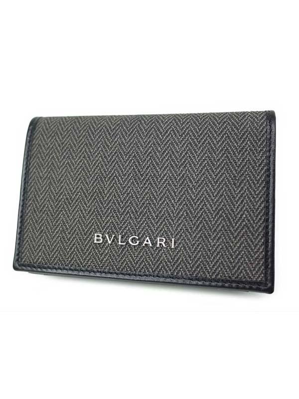 379e5163aeb4 【BVLGARI】ブルガリ『ウィークエンド カードケース』32588 メンズ 名刺入れ 1週間保証【中古】
