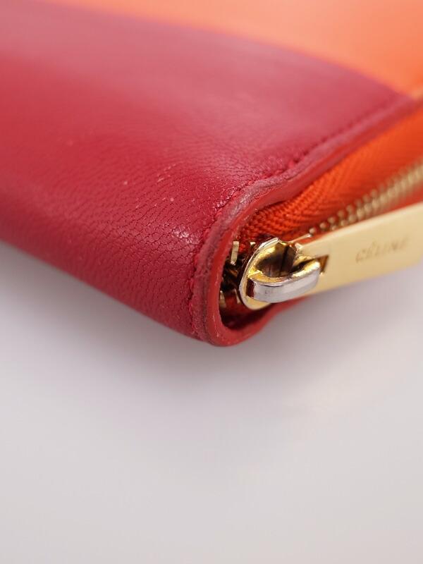 71b20ca8616b 【CELINE】【バイカラー】セリーヌ『ラウンドファスナー長財布』レディース 1