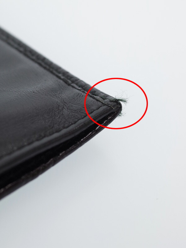 7c8669f6efec 【PRADA】プラダ『クロコ型押し 二つ折り長財布』2M0836 メンズ 1週間保証【中古】