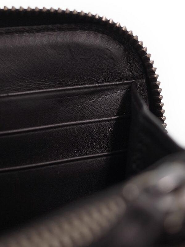 【BOTTEGA VENETA】ボッテガヴェネタ『イントレチャート ラウンドファスナー長財布』114076 ユニセックス 1週間保証【中古】