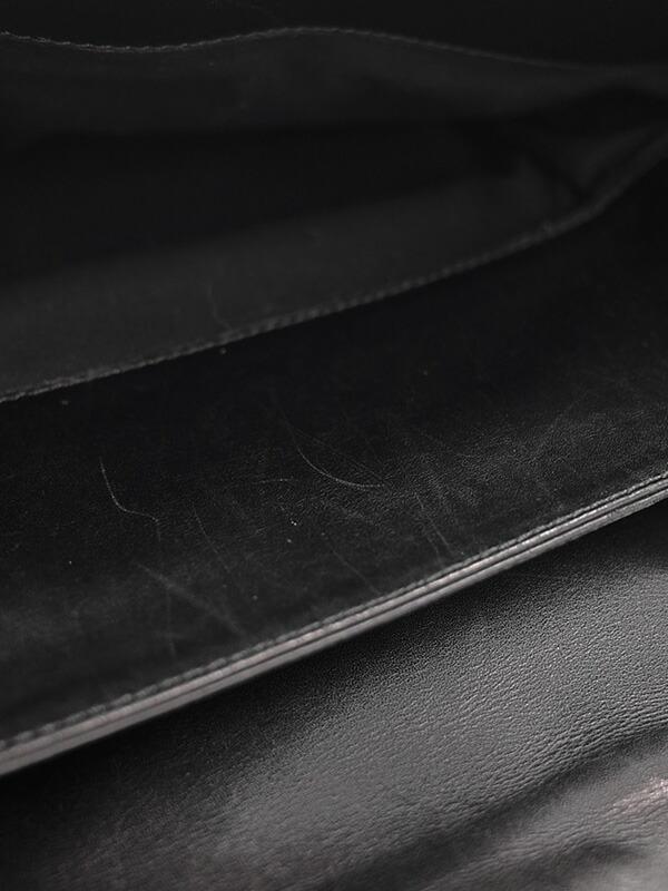 【BOTTEGA VENETA】ボッテガヴェネタ『イントレチャート ブリーフケース』122139 V4651 1000 メンズ ビジネスバッグ 1週間保証【中古】