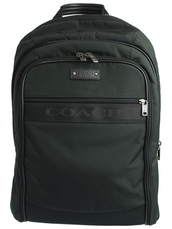 【COACH】コーチ『ヴォヤージュ リュックサック』F77194 メンズ バックパック 1週間保証【中古】