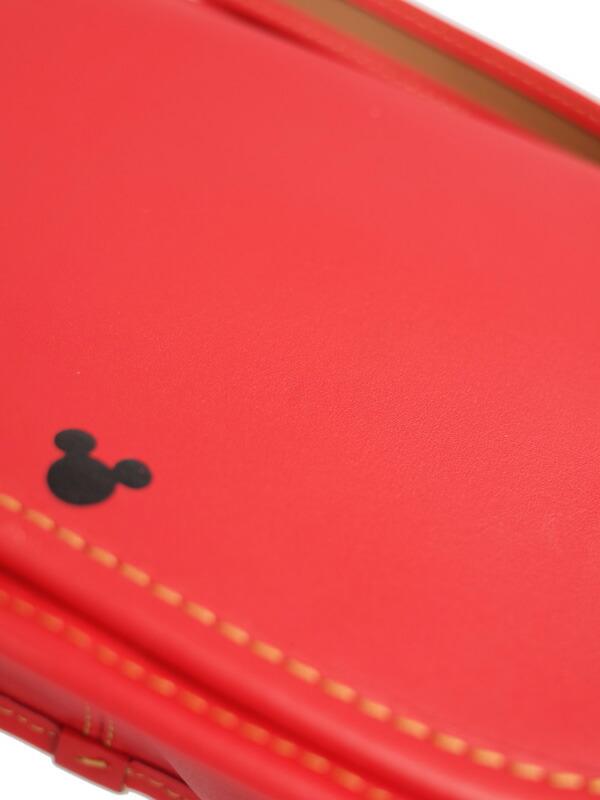【COACH】【COACH × Disney】コーチ『ディズニーコラボ パトリシア ミッキー サドルバッグ』F59369 レディース ショルダーバッグ 1週間保証【中古】