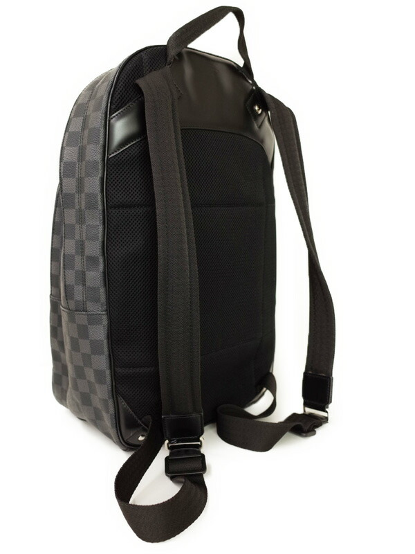 ecef0afc050a 【LOUIS VUITTON】【リュックサック】ルイヴィトン『ダミエ グラフィット ミカエル』N58024 メンズ バックパック 1週間保証【中古】